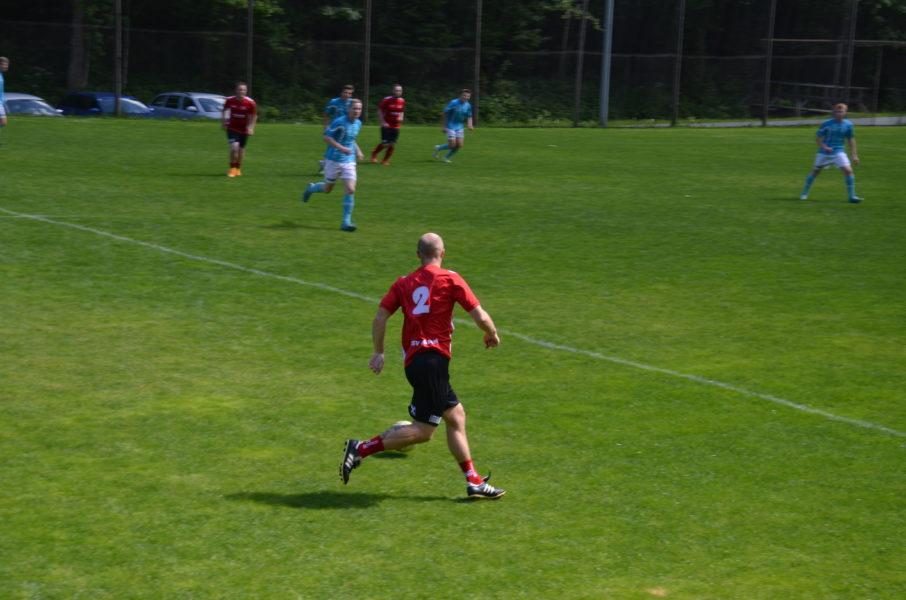 Fußballmatch USV Gasen